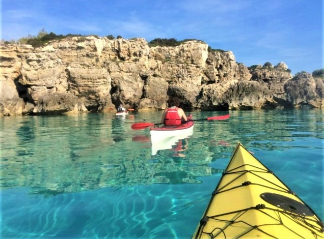 pianosa kayak